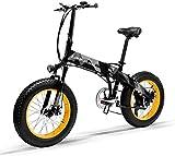 Bicicleta Eléctrica Plegable Potente...
