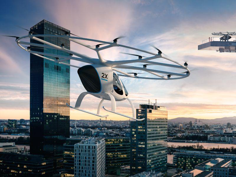coches voladores del futuro