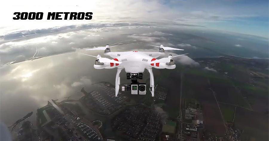 drones a 3000 metros