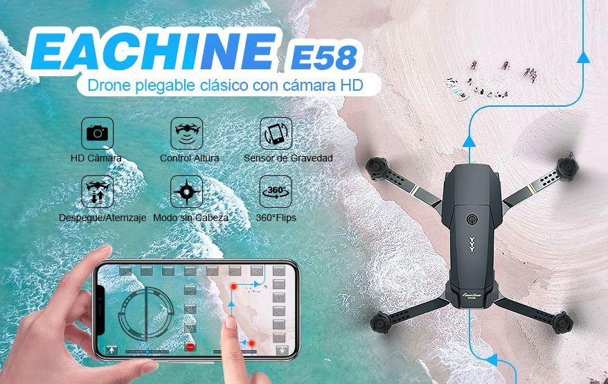 modos de vuelo eachine e58