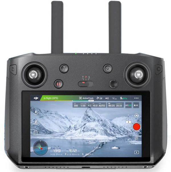 mando de un drone