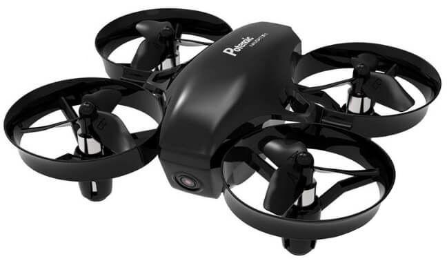 mini dron con cámara