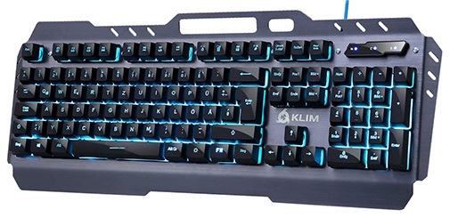 teclado gaming barato