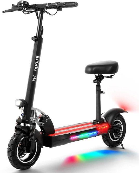 mejor patinete electrico con asiento