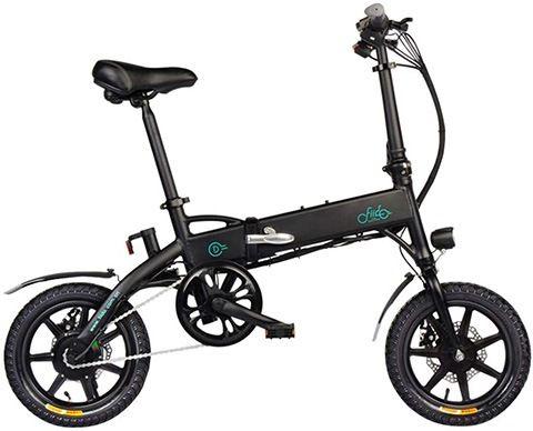 bicicleta eléctrica plegable más ligera