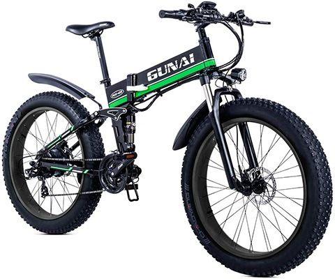 bicicleta eléctrica plegable más potente