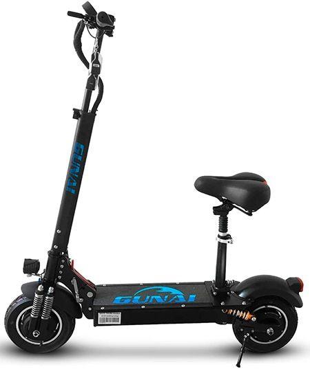 patinete electrico con asiento para adulto