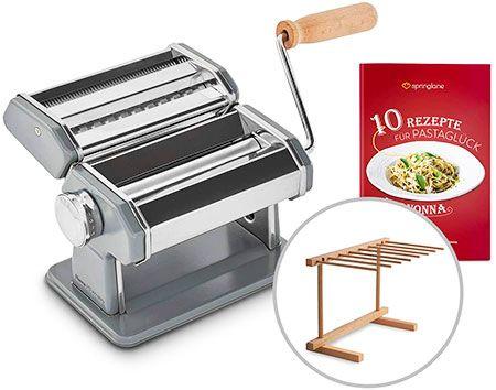 maquina italiana para hacer pasta fresca