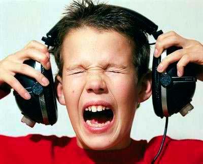 sensibilidad del auricular