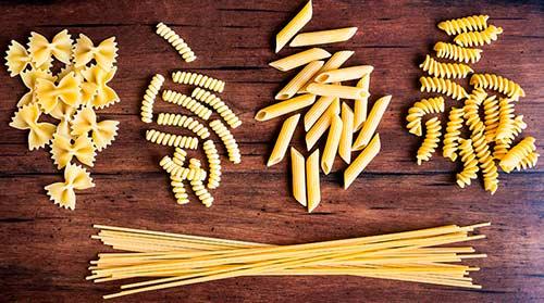 tipos de pasta fresca