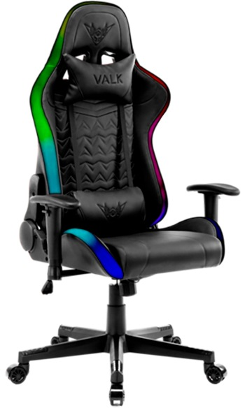 silla gaming con luces barata