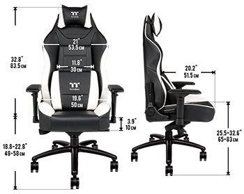 tamaño silla gamer barata